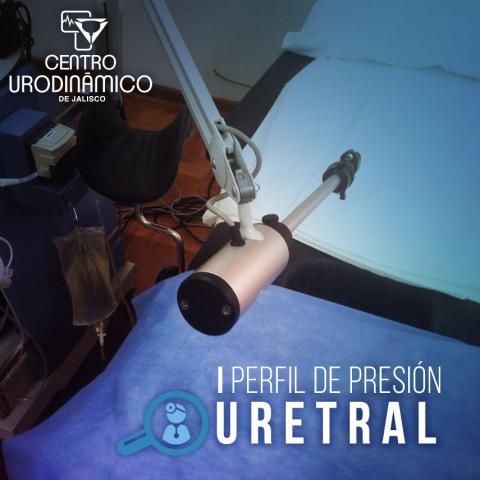 PERFIL DE PRESIÓN URETRAL REPOSO Y DURANTE ESFUERZO